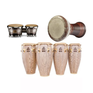 Congas, bongas, and other hand drums