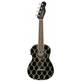 Ukulelė Fender Billie Eilish BLK WN