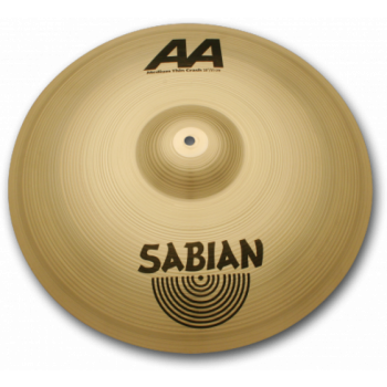 "Sabian 16"" Medium Thin Crash AA 21607"