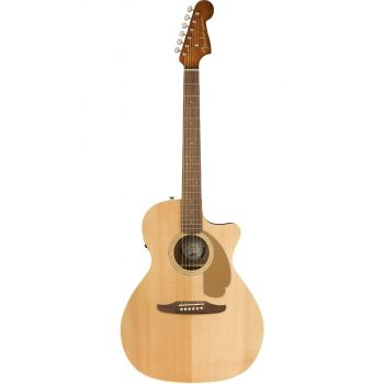 Elektroakustinė gitara Fender Newporter Player Natural WN