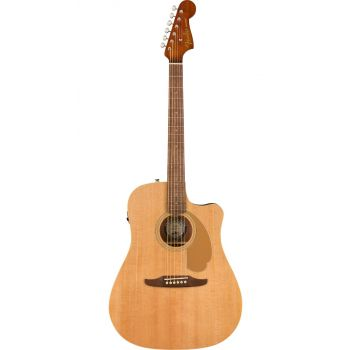 Elektroakustinė gitara Fender Redondo Player Natural WN