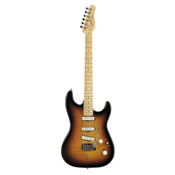 Godin Progression Vintage Burst Flame MN 33225
