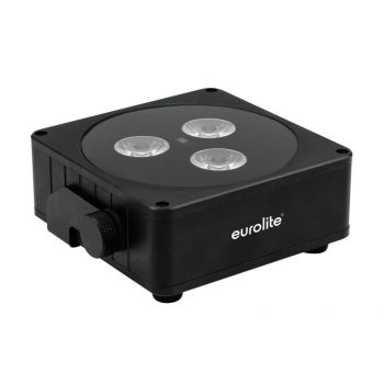 EUROLITE AKKU Flat Light 3 bk