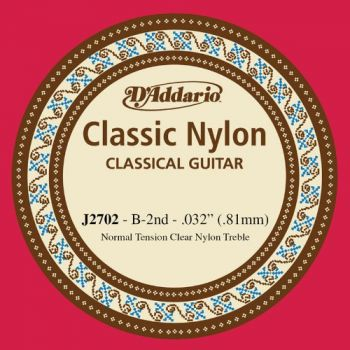 D'Addario Single Nylon normal tension  J2702