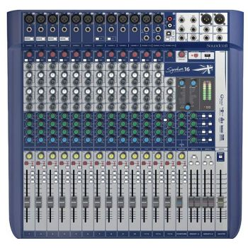 Mikšerinis Pultas Soundcraft Signature 16