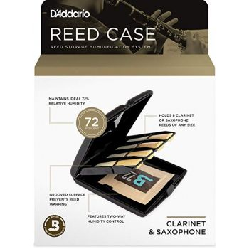 Case for clarinet and saxophone reeds D'Addario RVCASE04