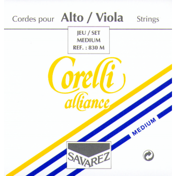 Viola strings Savarez Corelli Aliance, Medium Tension 830M