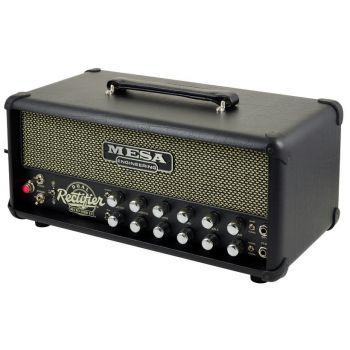Mesa Boogie Dual Rectoverb 25 Head Black Vinyl Black/Cream Grille Export
