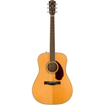 Elektroakustinė gitara Fender PM-1E Dreadnought, Natural, w/case