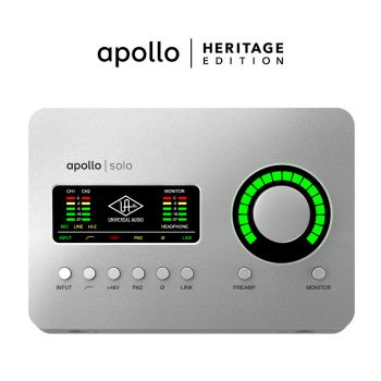 Universal Audio Apollo SOLO USB Heritage Bundle