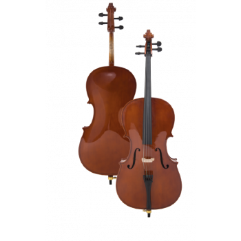 Čelė Proel Plywood Cello Set With Bag And Bow 1/8