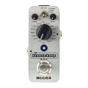 Pedalas Mooer Drum Machine and Looper