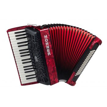 Hohner Bravo III 80 RED A16432