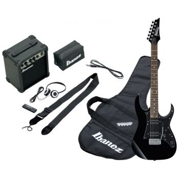 Electric guitar pack Ibanez IJRG200U-BK