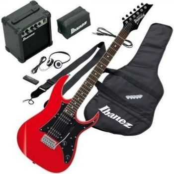 Electric guitar pack Ibanez IJRG200U-RD