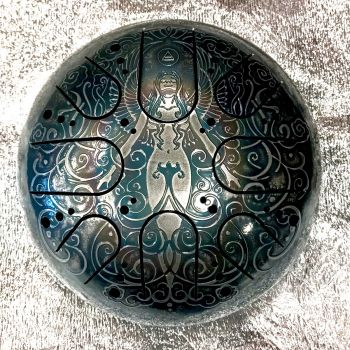 Kosmosky Steel Tongue Drum 22cm KSY.22.C.e10