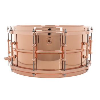 Solinis būgnas Ludwig Copper Smooth w/copper parts 6,5''x14''