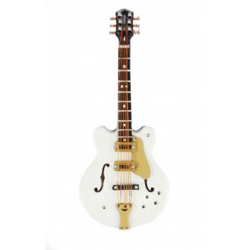 Magnetas Agifty Electric Guitar White