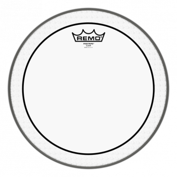 "Remo 12"" Pinstripe Clear PS031200"