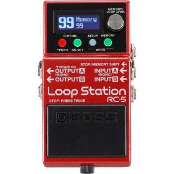 Pedalas Boss Loop Station RC-5