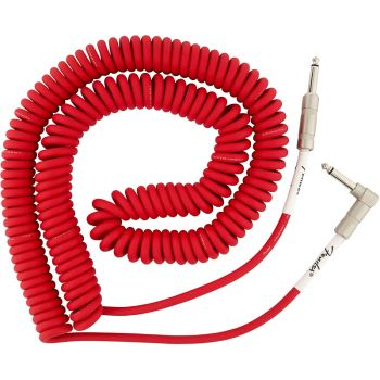 Fender Original Coil Cable 30' Fiesta Red