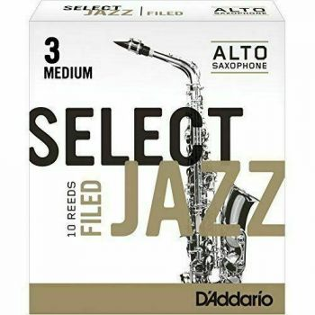 D'Addario Jazz Select 3 Medium RSF10ASX3M