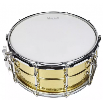 Solinis būgnas Ludwig Hammered brass snare 6 1/2x14