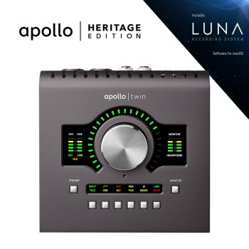 Universal Audio Apollo Twin MKII Duo Heritage Bundle