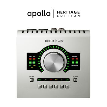Universal Audio Heritage Apollo TWIN USB Bundle
