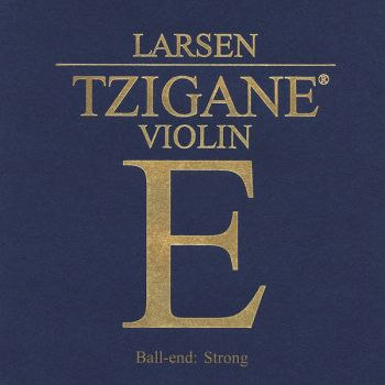 Violin strings Larsen Tzigane Ball end Medium SV224902