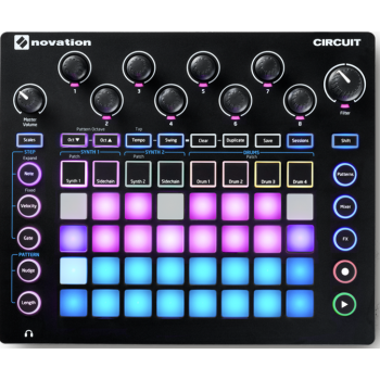 Synthesizer, sequencer Novation Circuit