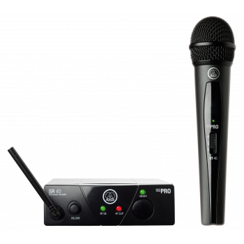 Bevielis Mikrofonas AKG WMS40 Mini Vocal Set (662.300 Mhz)