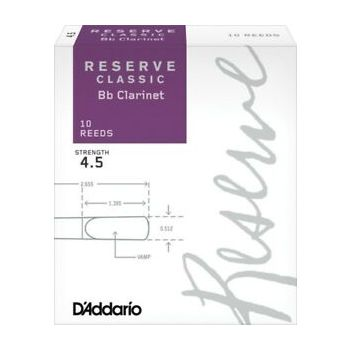 Reserve Classic Bb Clarinet 4,5 DCT1045