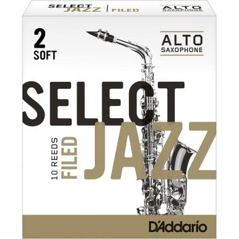 D'Addario Jazz Select 2 Soft RSF10ASX2S
